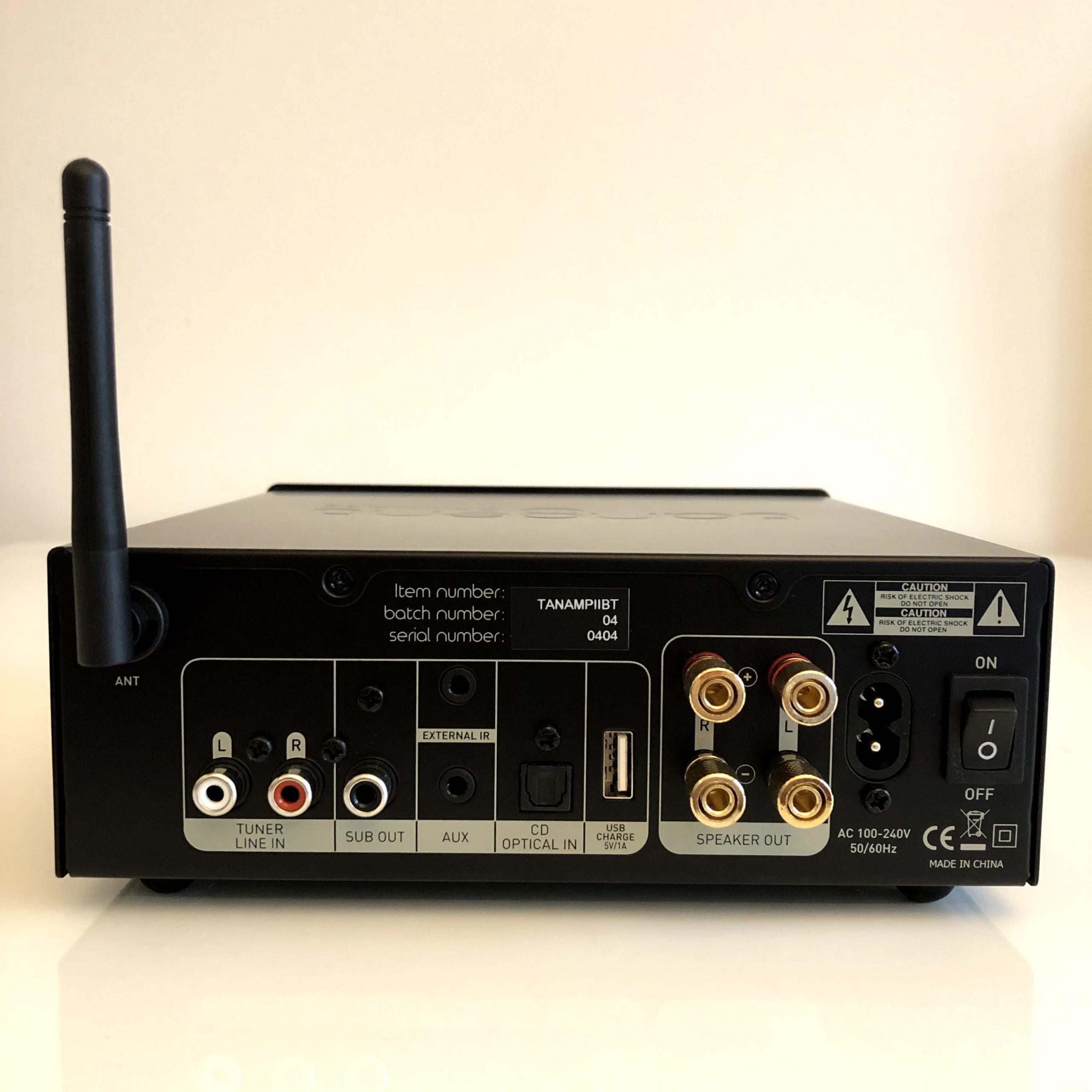 Amplificateur Hi-Fi Bluetooth