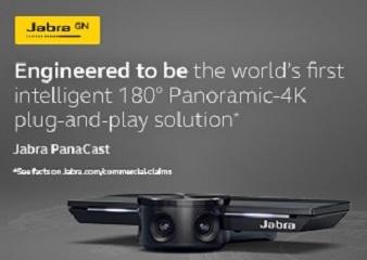 Caméra intelligente panoramique 4K 180°