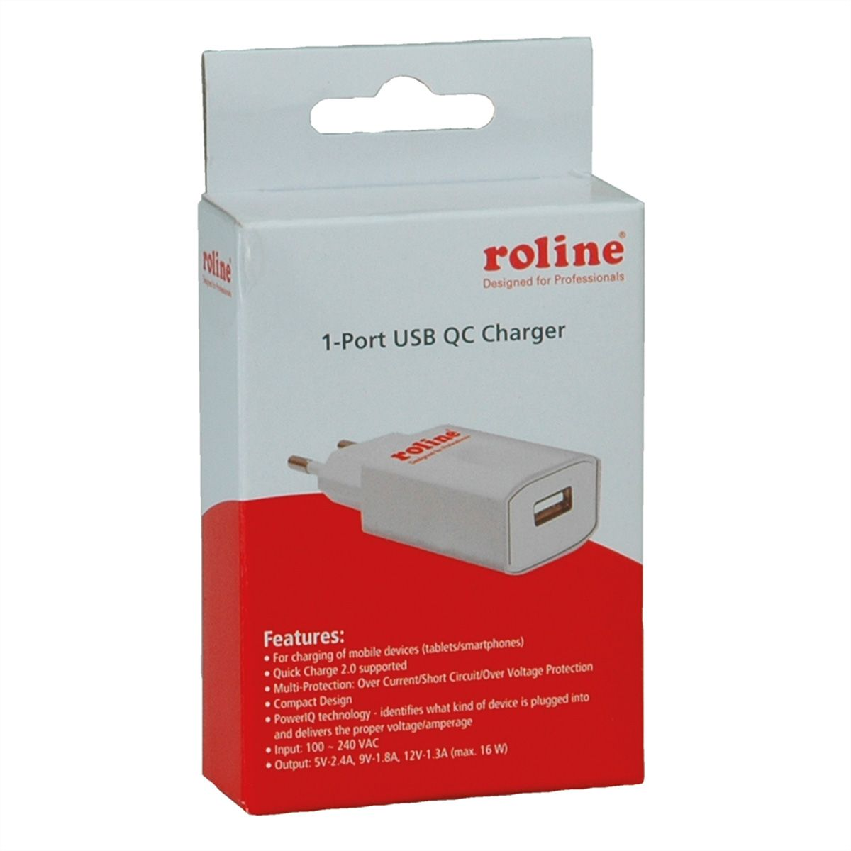 Chargeur USB 1 Port 16W