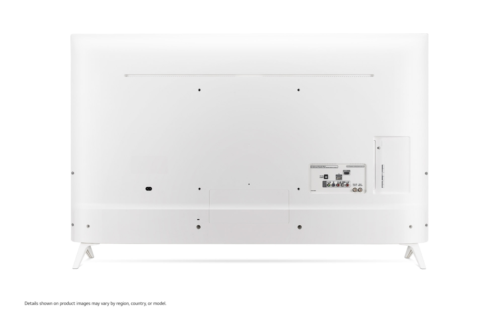 "Téléviseur LG UHD 49""/123cm blanc"